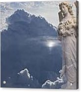 Angel In The Clouds Acrylic Print
