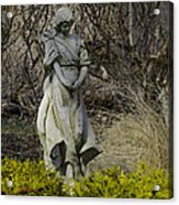 Angel In The Garden Acrylic Print