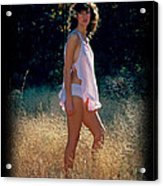 Angel In The Grasses 3 Acrylic Print