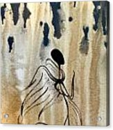 Angel In The Rain Acrylic Print