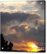 Angel In The Sunrise Acrylic Print