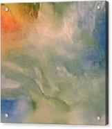 Angel Acrylic Print by Jane Ubell-Meyer
