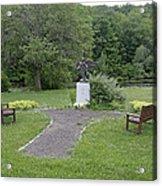 Angel Of Hope At The Putnam County Veteran Memorial Park Acrylic Print