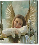 Angel Of Independence Acrylic Print
