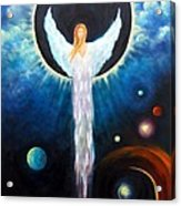 Angel Of The Eclipse Acrylic Print