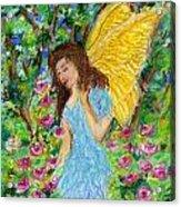 Angel Of The Garden Acrylic Print