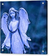Angel Of The Rain Acrylic Print