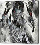 Angel Of Winter Acrylic Print