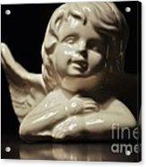 Angel On The Table Acrylic Print