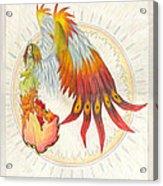 Angel Phoenix Acrylic Print