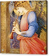 Angel Playing A Flageolet Acrylic Print
