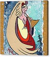 Angel Playing For Us No1 Acrylic Print