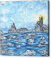 Angel Rock Acrylic Print