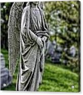 Angel Sculpture Acrylic Print