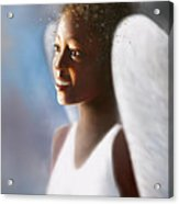 Angel Smile Acrylic Print