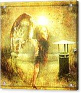 Angel Spirit Acrylic Print