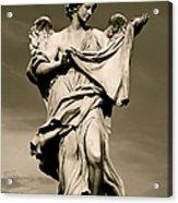 Angel Statue Acrylic Print