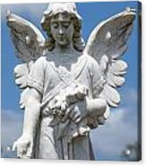 Angel Tombstone Series Acrylic Print