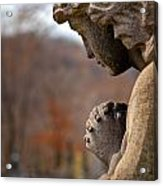 Angel Watching Over Acrylic Print