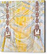 Angel Winds Flames Of Fire Acrylic Print