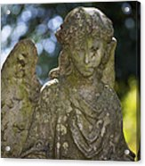 Angel With Broken Arm II Cave Hill Cemetery Louisville Kentucky  Acrylic Print