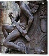 Angel With His Sword Acrylic Print