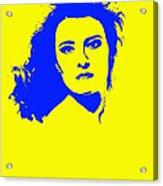 Angela Torn By Acrylic Print
