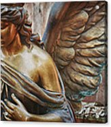 Angelic Contemplation Acrylic Print by Terry Rowe