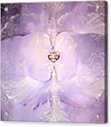 Angelic Cropped Version Acrylic Print