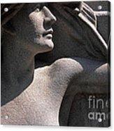 Angelic Woman Acrylic Print