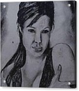 Angelina Acrylic Print