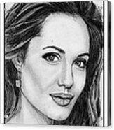 Angelina Jolie In 2005 Acrylic Print by J McCombie