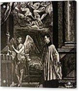 Angels And Saints Acrylic Print