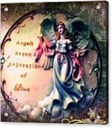 Angels  Acrylic Print