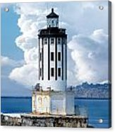 Angel's Gate Lighthouse Acrylic Print