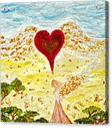 Angels Journey Acrylic Print