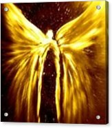 Angels Of The Golden Light Anscension Acrylic Print