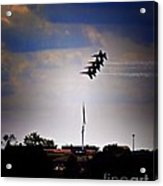 Angels Over Ft. Mchenry 2 Acrylic Print