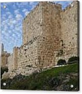 Angels Rejoicing Over Jerusalem Acrylic Print