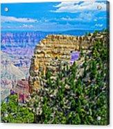 Angel's Window At Cape Royal On North Rim Of Grand Canyon-arizona Acrylic Print