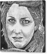Angie Acrylic Print