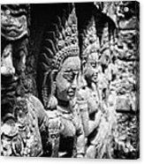 Angkor Beautiful Apsaras Acrylic Print
