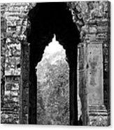 Angkor Thom East Gate 03 Acrylic Print