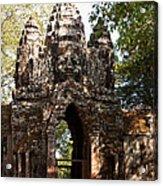 Angkor Thom North Gate 01 Acrylic Print