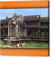Angkor Wat Cambodia 1 Acrylic Print