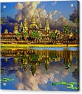 Angkor Wat Just Before Sunset Acrylic Print