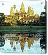 Angkor Wat Reflections 01 Acrylic Print