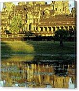 Angkor Wat Reflections 02 Acrylic Print