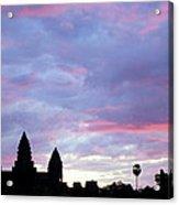 Angkor Wat Sunrise 02 Acrylic Print