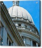 Angle On The Capitol Acrylic Print